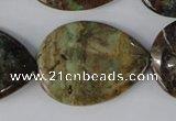 African prase jasper gemstone beads