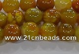 CAA1043 15.5 inches 10mm round dragon veins agate beads wholesale