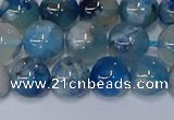 CAA1082 15.5 inches 8mm round sakura agate gemstone beads