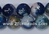 CAA1084 15.5 inches 12mm round sakura agate gemstone beads