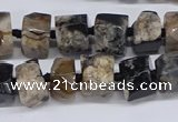 CAA1113 15.5 inches 8*12mm - 15*20mm nuggets sakura agate beads