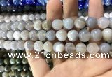 CAA1533 15.5 inches 10mm round banded agate beads wholesale