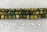 CAA1963 15.5 inches 10mm round banded agate gemstone beads