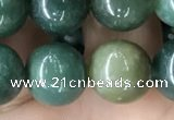 CAA2360 15.5 inches 12mm round moss agate beads wholesale