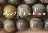 CAA2372 15.5 inches 8mm round ocean agate beads wholesale