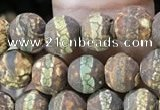 CAA3842 15 inches 6mm round tibetan agate beads wholesale