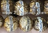 CAA3872 15 inches 8mm round tibetan agate beads wholesale