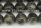 CAA4034 15.5 inches 6mm round chrysanthemum agate beads