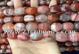 CAA4571 15.5 inches 13*16mm - 15*20mm rice south red agate beads