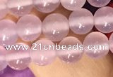 CAA5081 15.5 inches 6mm round purple agate beads wholesale