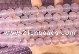 CAA5084 15.5 inches 12mm round purple agate beads wholesale