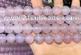 CAA5085 15.5 inches 14mm round purple agate beads wholesale