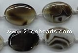 CAA530 15.5 inches 18*25mm oval madagascar agate gemstone beads