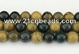 CAA5335 15.5 inches 14mm round ocean agate beads wholesale