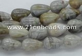 Natural bamboo leaf agate gems beads :  jade beads rectangular agate beads glass beads pearl beads