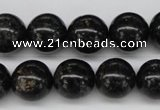 CAE06 15.5 inches 14mm round astrophyllite beads wholesale