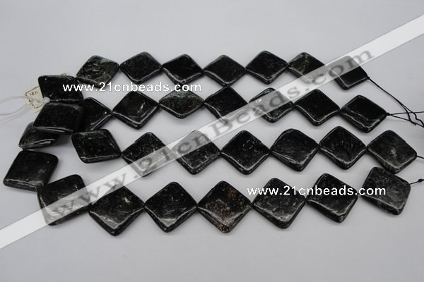 CAE104 15.5 inches 20*20mm diamond astrophyllite beads wholesale