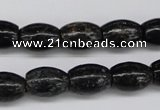 CAE11 15.5 inches 10*14mm rice astrophyllite beads wholesale