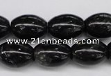 CAE12 15.5 inches 13*18mm rice astrophyllite beads wholesale