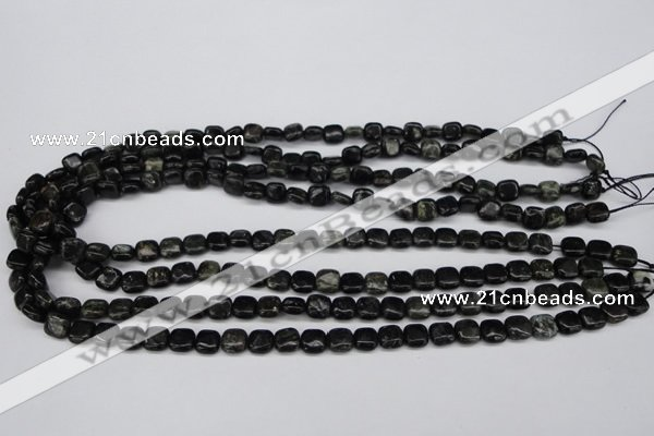 CAE75 15.5 inches 8*8mm square astrophyllite beads wholesale