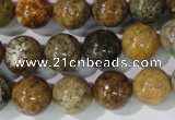 CAG1704 15.5 inches 12mm round rainbow agate beads wholesale
