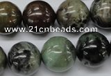 CAG1784 15.5 inches 18mm round colorful agate beads wholesale