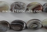CAG3723 15.5 inches 13*18mm oval botswana agate beads wholesale
