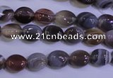 CAG4450 15.5 inches 8*10mm oval botswana agate beads wholesale