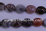 CAG4451 15.5 inches 10*12mm oval botswana agate beads wholesale