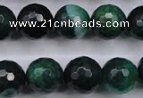 CAG5130 15.5 inches 14mm faceted round agate beads wholesale