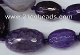CAG5405 10*14mm � 20*30mm faceted drum dragon veins agate beads