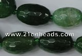 CAG5408 10*14mm � 20*30mm faceted drum dragon veins agate beads