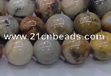 CAG6673 15.5 inches 10mm round natrual crazy lace agate beads
