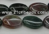CAG6796 15.5 inches 12*16mm oval Indian agate beads wholesale