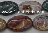 CAG6799 15.5 inches 18*25mm oval Indian agate beads wholesale