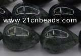 CAG6828 15.5 inches 15*20mm teardrop Indian agate beads wholesale