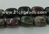 CAG6834 15.5 inches 10*15mm nuggets Indian agate beads wholesale