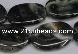 CAG7073 15.5 inches 22*30mm - 25*35mm freeform ocean agate beads