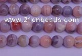 CAG7301 15.5 inches 6mm round red botswana agate gemstone beads