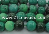 CAG7905 15.5 inches 8mm round grass agate beads wholesale