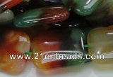 CAG793 15.5 inches 22*30mm rectangle rainbow agate gemstone beads