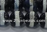 CAG9137 15.5 inches 16mm round tibetan agate beads wholesale