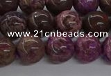CAG9643 15.5 inches 12mm round ocean agate gemstone beads wholesale