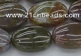 CAG9743 15.5 inches 15*20mm oval Indian agate beads wholesale