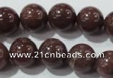 CAJ455 15.5 inches 12mm round purple aventurine beads wholesale