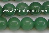 CAJ606 15.5 inches 16mm round A grade green aventurine beads
