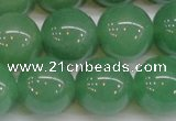 CAJ607 15.5 inches 18mm round A grade green aventurine beads