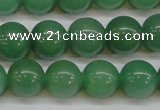 CAJ614 15.5 inches 12mm round AA grade green aventurine beads