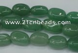 CAJ78 15.5 inches 10*14mm nuggets green aventurine beads wholesale