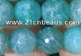CAM1664 15.5 inches 12mm round Russian amazonite beads